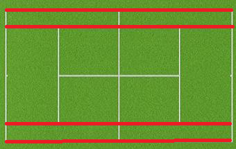 sideline - giant glossary of tennis terms