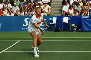 Boris_Becker - Tennis Strategy - Serve-and-Volley