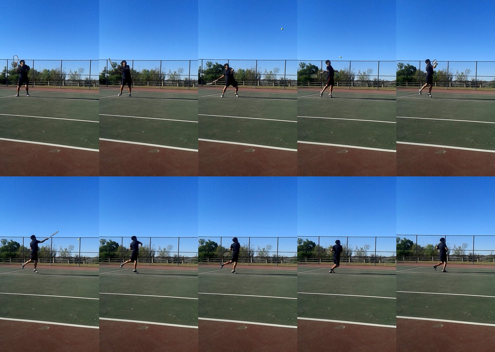 Drive Volley Compressed - tennis forehand tutorial