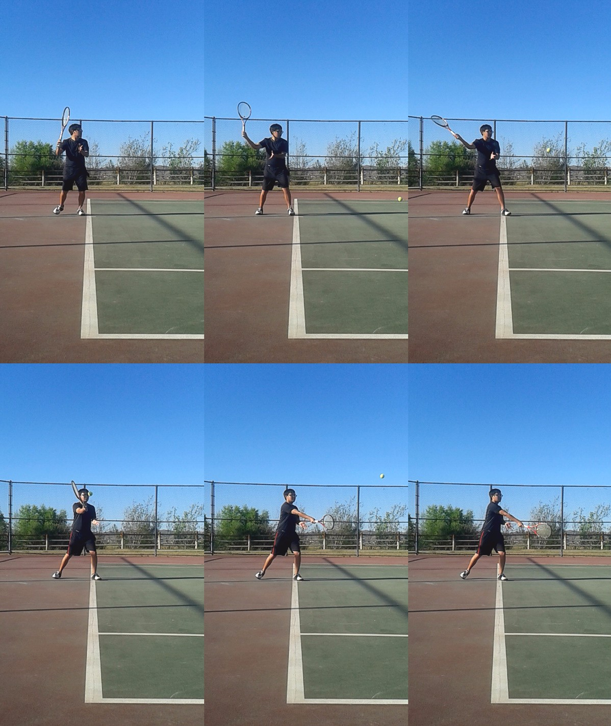 Forehand Slice Compressed - tennis forehand tutorial