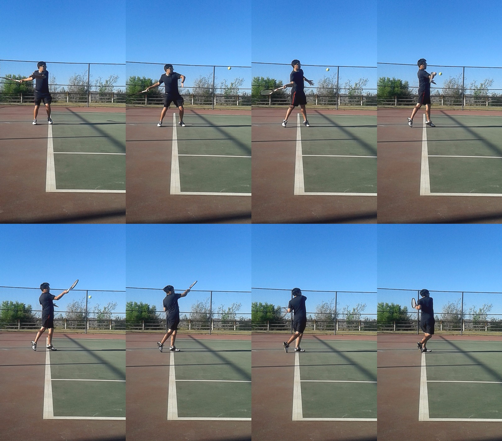 Forehand Topspin Compressed - tennis forehand tutorial