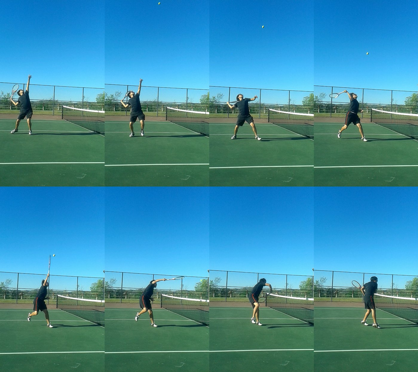 Overhead Compressed - Types of Tennis Volley Volleys