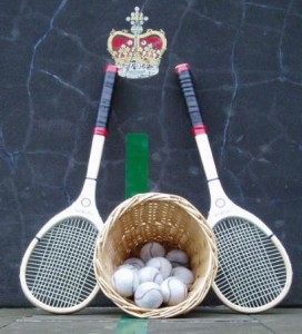real tennis racquets and balls - the complete history of tennis