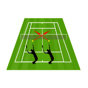 tennis serve positioning - how to serve in tennis