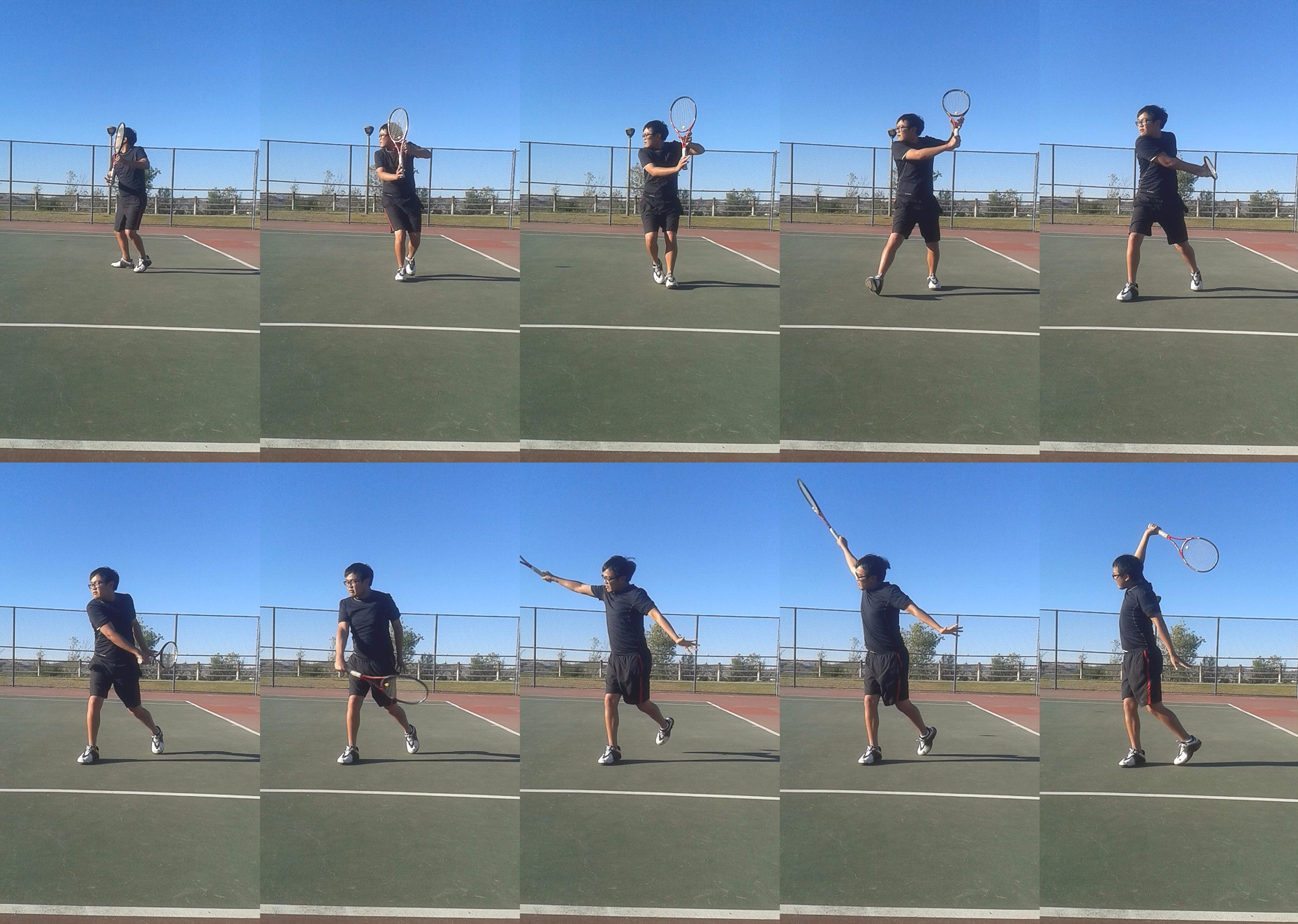 One Handed Backhand Compressed - tennis backhand tutorial