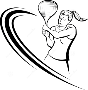 Image result for tennis racket swing