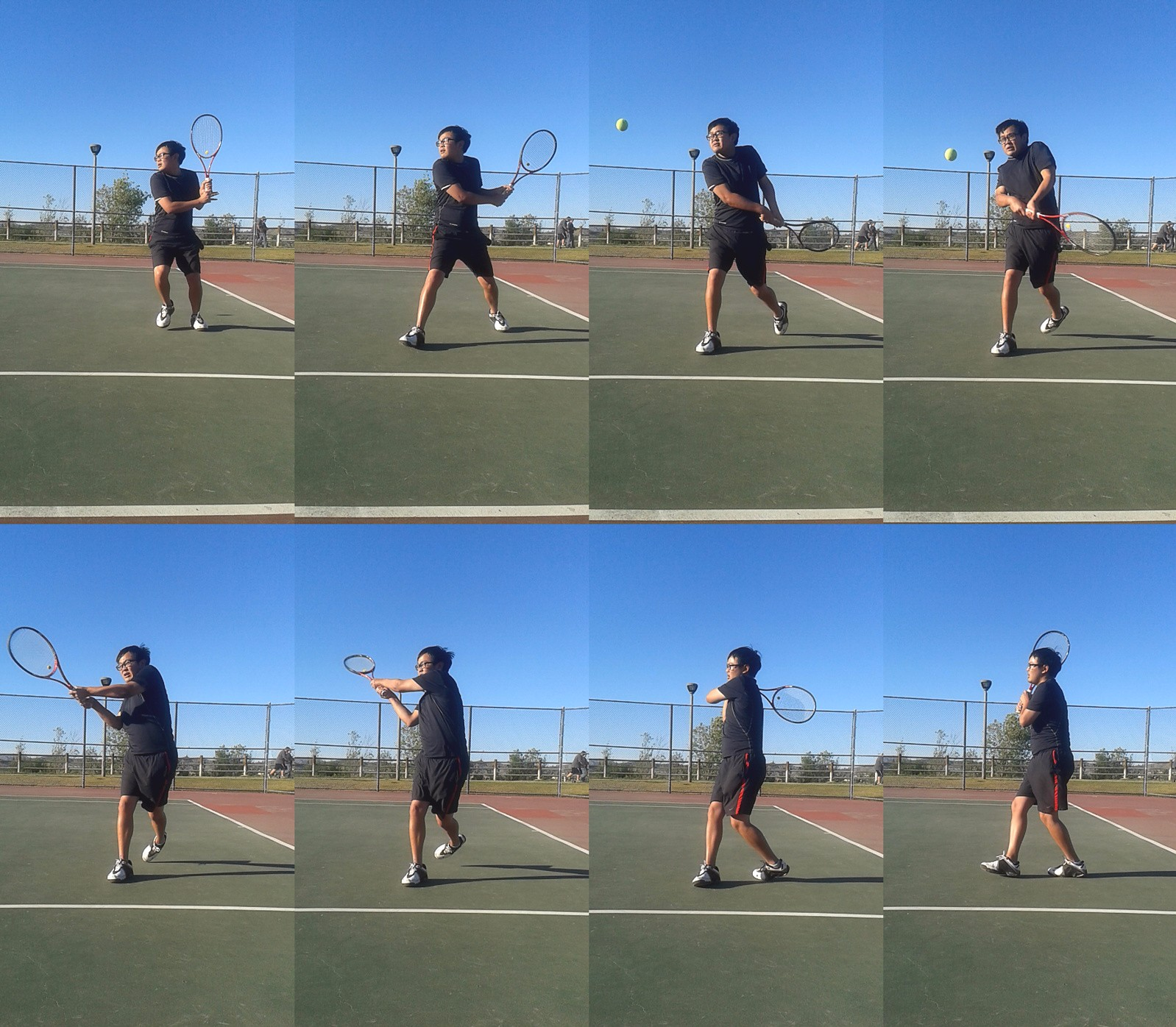 Two Handed Backhand Compressed - tennis backhand tutorial
