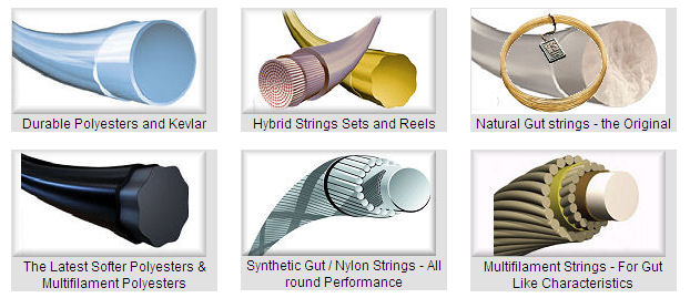 best tennis strings - types of tennis strings