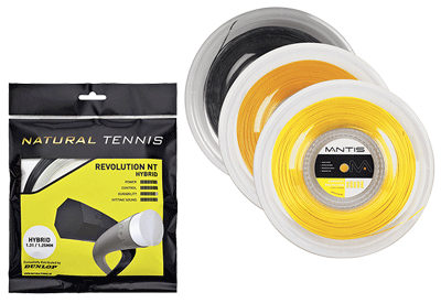 Best Tennis Strings - Reel vs Individual