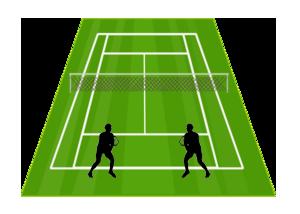 Cả hai mặt sau - Chiến lược quần vợt đôi